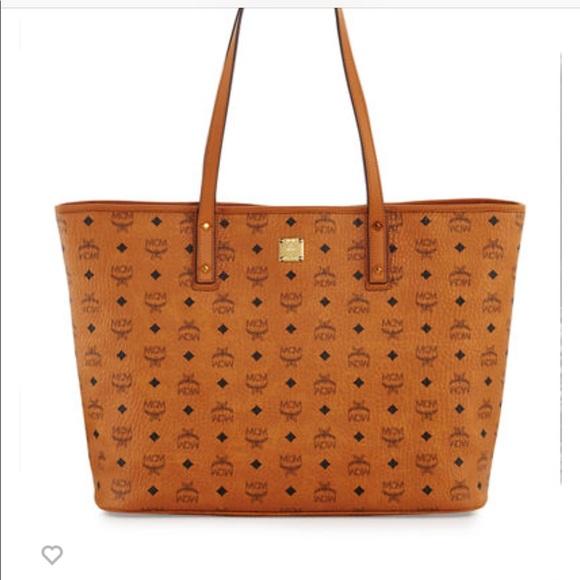 7b20470a4ee8 MCM Bags   Large Anya Tote   Poshmark